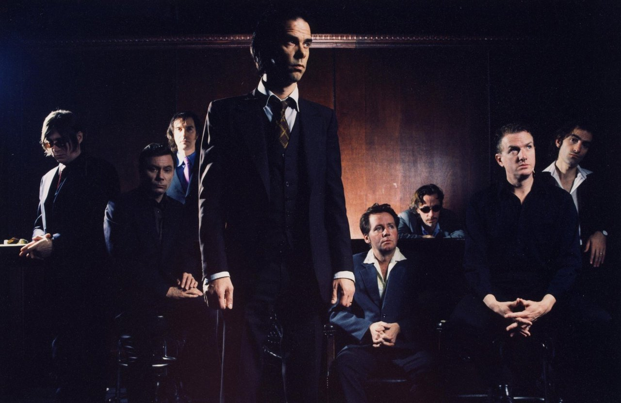 Nick Cave visits the Sound Opinion's studio