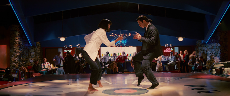 Catherine Zeta-Jones and John Travolta dancing in Pulp Fiction