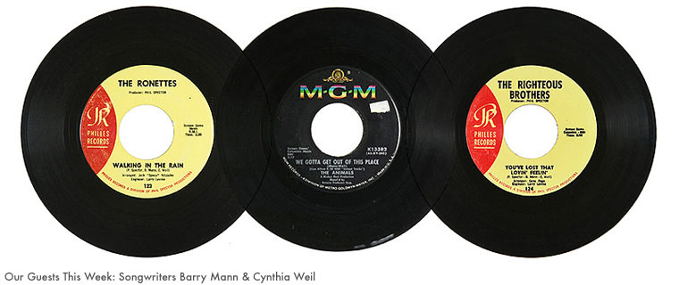 Songwriters Barry Mann & Cynthia Weil on Sound Opinions