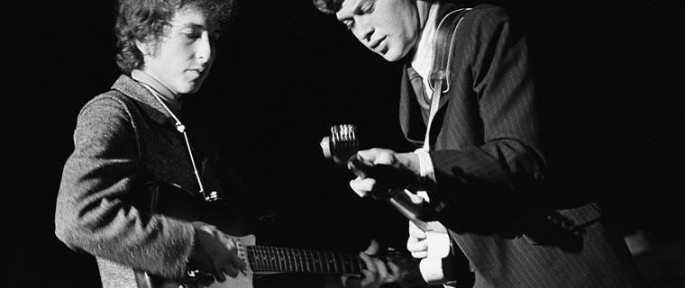 Al Kooper with Bob Dylan