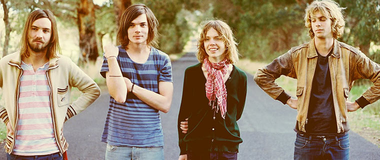 Band Photo of Tame Impala