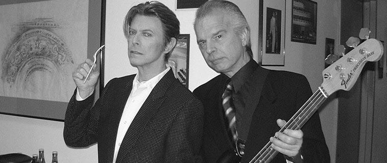 David Bowie and Tony Visconti